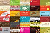 επαγγελματικές κάρτες — Διανυσματικό Αρχείο