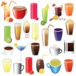 Drinks set — Stock Vector #6629085