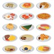 Big food set — Stock vektor #6629092