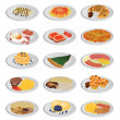 Big food set — Vettoriale Stock #6629092
