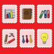 Stock Vector: Business stamps