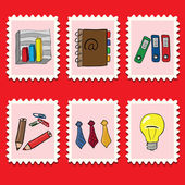 Business stamps — Stock Vector