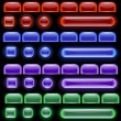 Royalty-Free Stock : Glowing computer icon