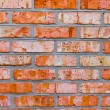 Brick masonry — Stock Photo