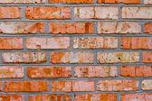 Maçonnerie de briques — Photo