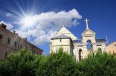 Ukraine, Lviv, church landscape — Stock Photo
