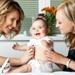 Doctor healthy baby — Stock Photo #6373927