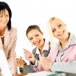 Businesswomen working — Stock Photo #6374140