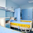 Rehabilitation hospital room — Stock Photo