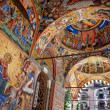 Holy Virgin Rila monastery fresco - Stock Photo