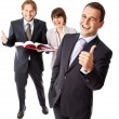Thumbs up business — Stock Photo
