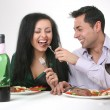 Romantic dinner — Stock Photo #6375013