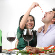Romantic dinner — Stock Photo #6375015