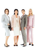 Businesswomen team — Stock Photo
