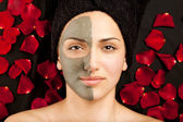 Facial Clay Mask — Stock Photo