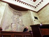 Gerichtssaal gerechtigkeit — Stockfoto
