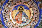 Jesus fresco Rila Monastery — Stock Photo