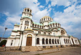 Alexander Nevsky cathedral Sofia — Stock Photo