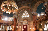 Interior of Sofia synagogue — Stock Photo