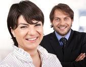 команда малого бизнеса — Стоковое фото