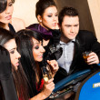 Young playing black jack — Stock Photo