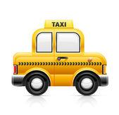 タクシー車 — ストックベクタ