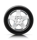 汽车车轮 — 图库矢量图片