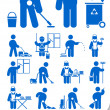 Cleaning service icon - 