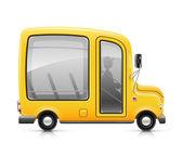 Yellow bus — Stock Vector