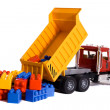 Dump truck toy — Stock Photo #5873302