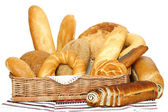 Breads and loafs — Stock Photo
