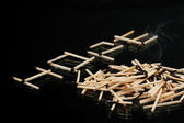 Extincted matches — Stock Photo