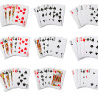 Poker cards — Stock Photo
