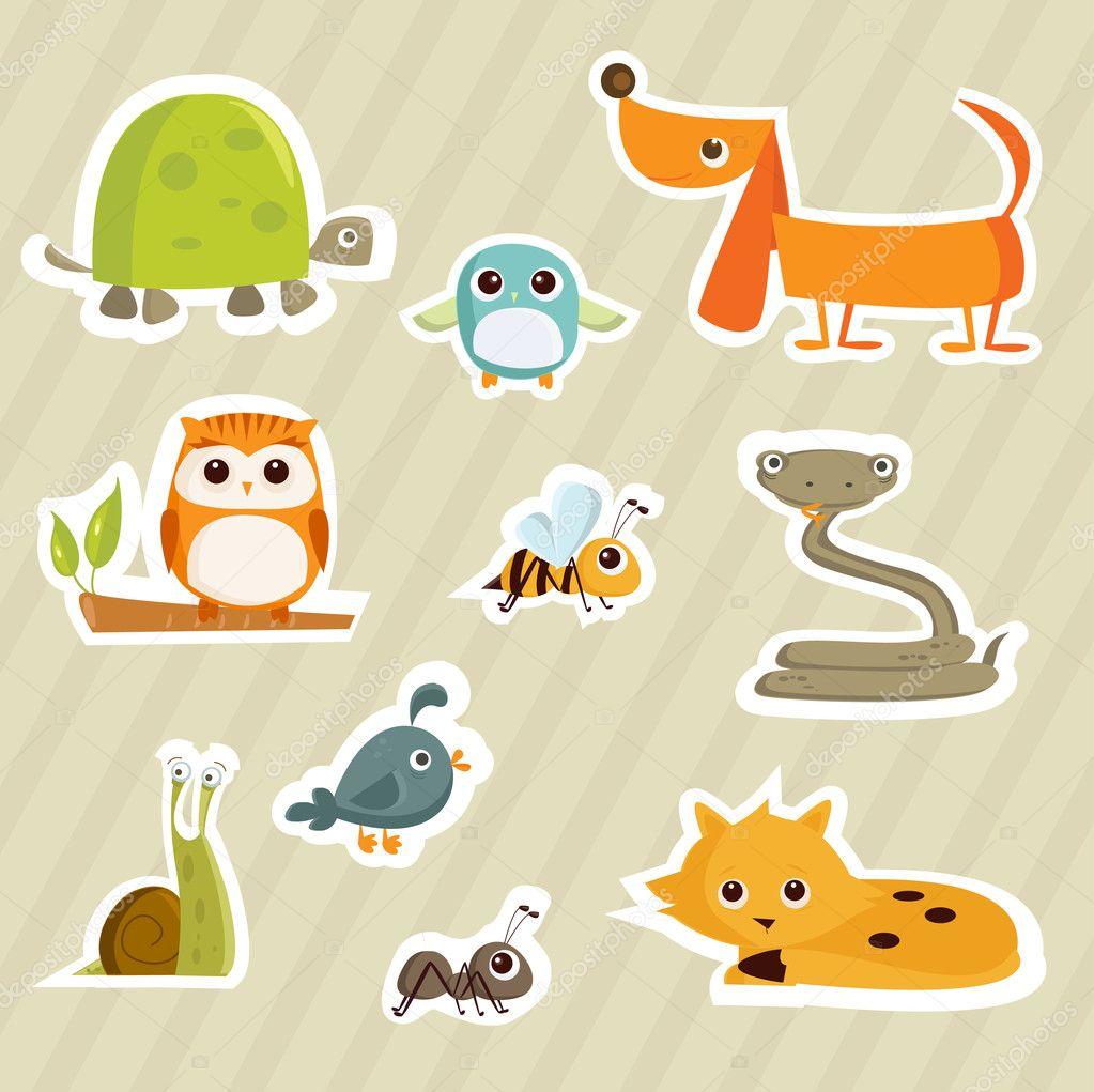 "depositphotos 5879782 Cartoon animal stickers Nude Amateur Couple. Nude Amateur Couple. Someone said my name. ""Suhail?"""