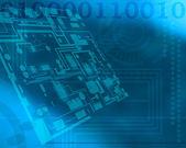 Tecnology background — Stock Photo
