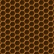Stock Vector: Honeycomb pattern