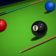 Snooker — Stock Vector