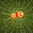 Stock Vector: Spider