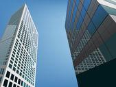 Skyscrapers — Stock Vector