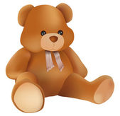 Teddy bear — Vettoriale Stock