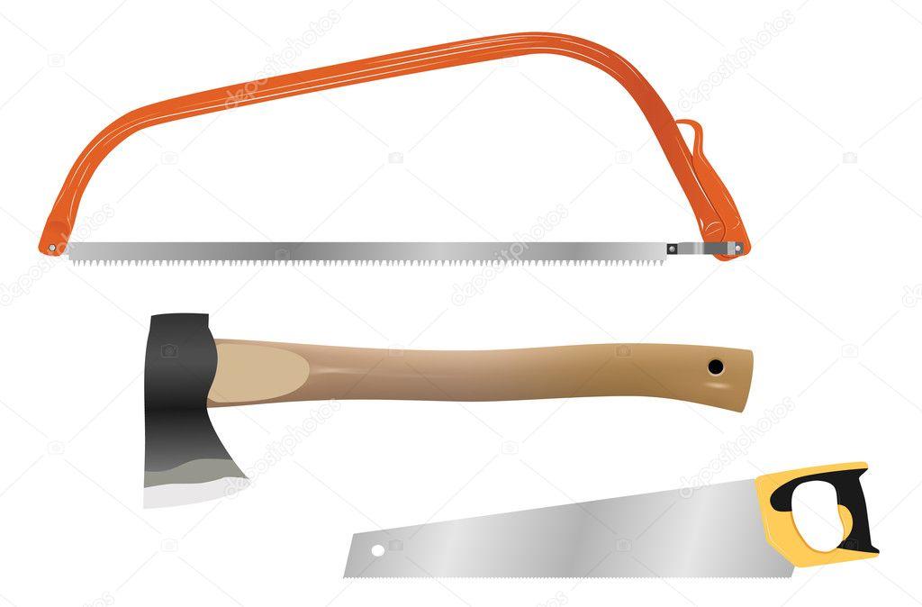 Woodworking Tools Vector
