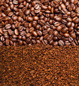 Coffe texture — Stock Photo