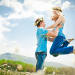 Happy young couple — Stockfoto #5878409