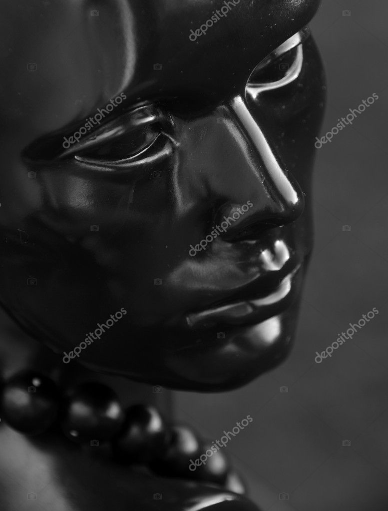 Black mannequin — Stock Photo #5906517