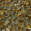 Gold and silver coins - Lizenzfreies Foto