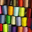 Stock Photo: Colored spools