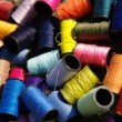 Stock Photo: Colorful spools