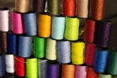 Colored spools — Stock Photo