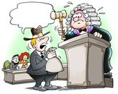 Decision in a judicial proceedings — Stock Photo