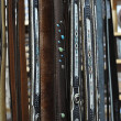Belts in shop — Stock Photo #6074975